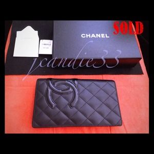 GoneChanel Cambon long WalletLike New