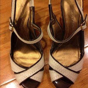 Joan & david Beige preppy sandals