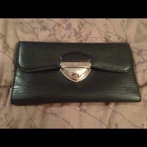 Authentic Epi Louis Vuitton black wallet