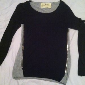Freeloader Sweaters - Reserved! Never worn sweater with zipper detail.
