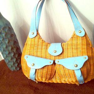 Savoy cute basket style purse!