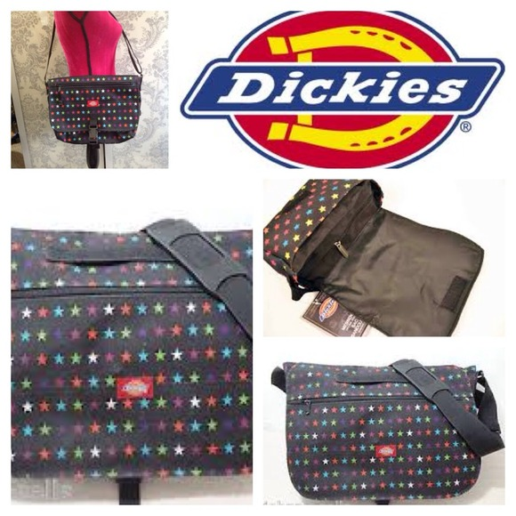 37% off dickies Handbags - Dickies multi colored star messenger ...