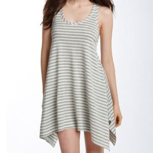 Haute Hippie Jackson stripe tunic dress.