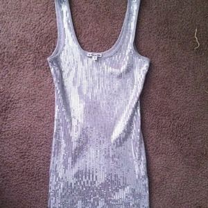 XS Express sequined tank