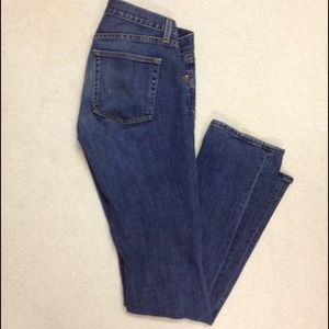 J. Crew medium fade boot cut jeans.