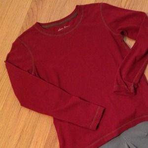 North River  Tops - North River Soft Red Top