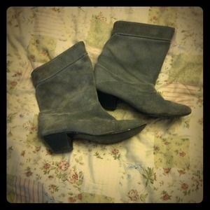 Vintage gray boots! reserved