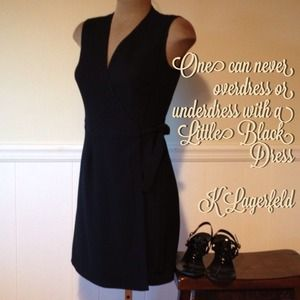 Parallel LBD Wrap Dress