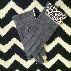 Gray & Cheetah Gloves!!