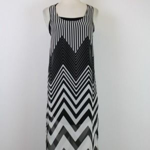 FINAL REDUCTION!!!!  Chevron maxi dress