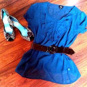 Accessories - Black Patten Leather Adjustable Belt...A Must Have
