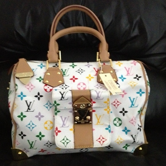 F307a3c596bbf Vuitton Multicolor Speedy Text Recover Com