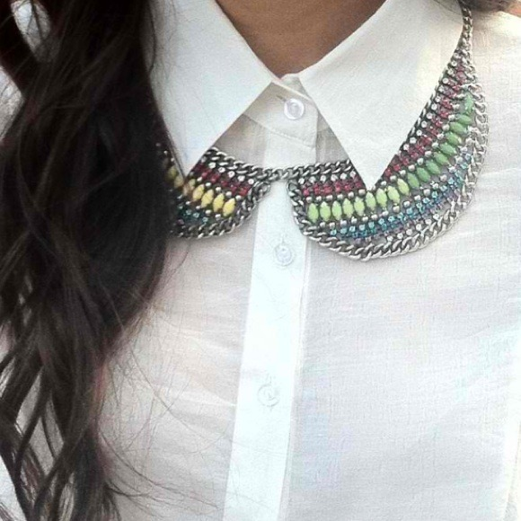 Jewelry - Reduction!!!! 😱Last one!!Colorful collar bib 3