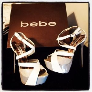 Brand New Bebe Heels Never Worn Size 7