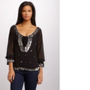 Jackets & Blazers - LUCKY AND COCO Sequin Blouse