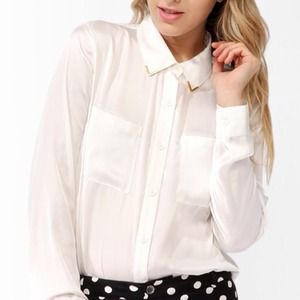 🎉 Final Reduction 🎉Embellished collar blouse