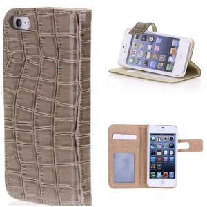 Clutches & Wallets - iPhone 5 Wallet Case (Light Brown)