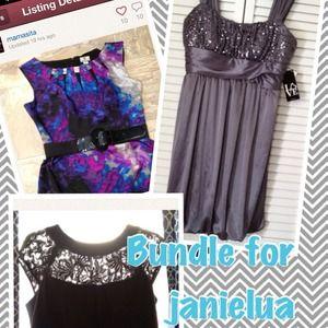 Dresses & Skirts - Bundle for janielua