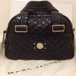 Marc Jacobs Bags - Marc Jacobs Quilted Patent Ursula Bowler