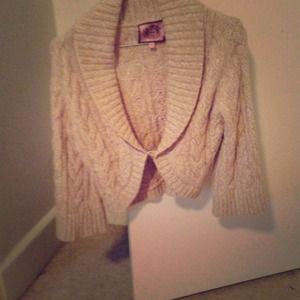 Juicy couture cropped sweater