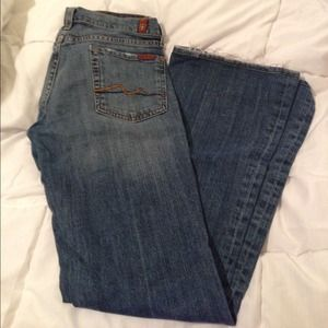 ⬇️Reduced! Seven For All Mankind Flare denim