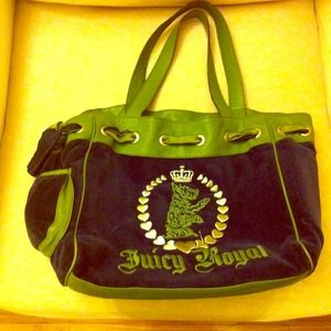 Juicy Couture velour Day Dreamer tote