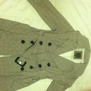 A trench coat!