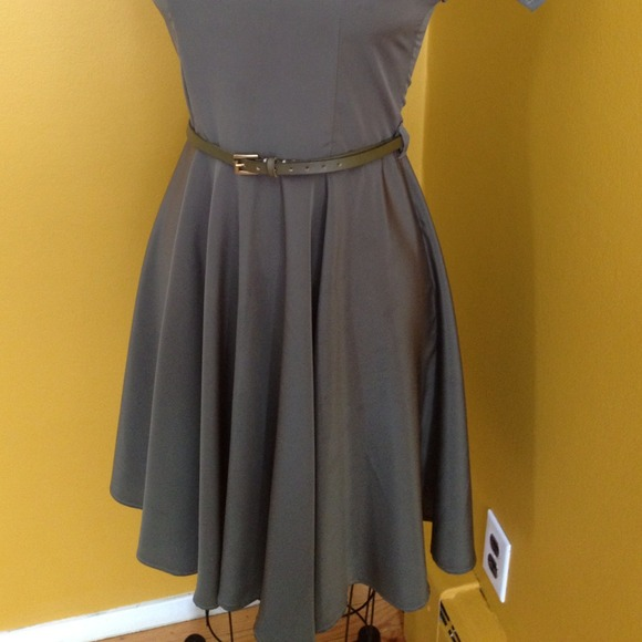 Kelly Lynne  Dresses - Vintage style olive dress