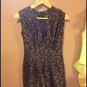 Kelly Lynne Dresses - Metallic Dots Dress