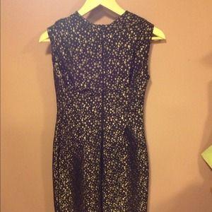 Kelly Lynne Dresses - Metallic Dots Dress