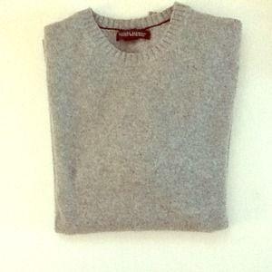Banana Republic Other - Banana Republic men's grey wool/cashmere sweater