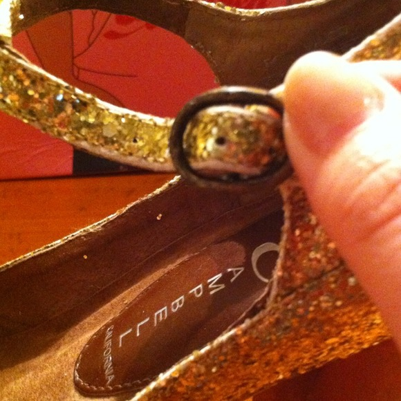 Jeffrey Campbell Shoes - {Reduced} Gold Glitter Jeffrey Campbell Heels! 3