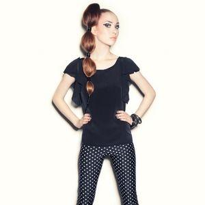 Kelly Lynne Pants - Polka dotted leggings