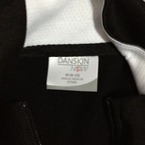 danskin Jackets & Coats - Black with white striping runners jacket.
