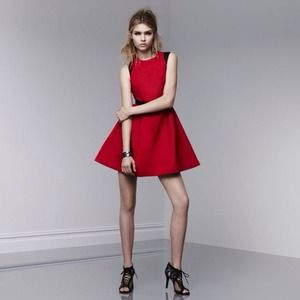 NOT AVAILABLE: Prabal Gurung for Target Red Dress