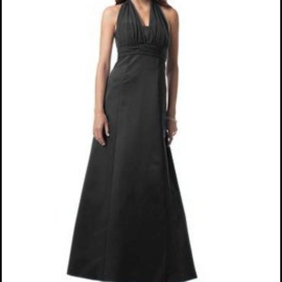 d99802ac0 Dresses | Davids Bridal Black Dress Serial Number 81441 | Poshmark