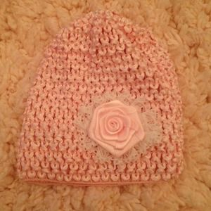 Pink baby hat!