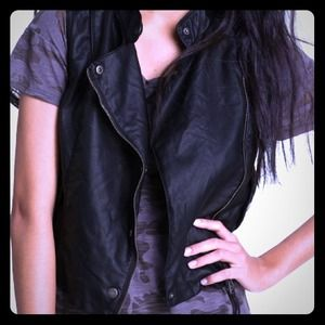 Jackets & Blazers - ❗❗❗SOLD❗❗❗NWOT Faux Leather Vest