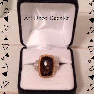 Jewelry - New Genuine Smokey Quartz Ring