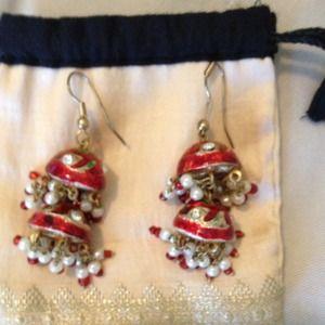 Fun pair of dangling earrings