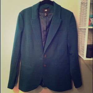 Forest green H&M blazer!