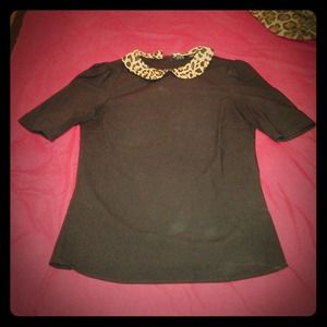 Zara Beaded Peter Pan Collar Blouse 29