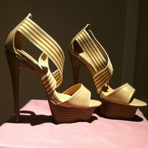 Gorgeous 6in heels, 1in platform