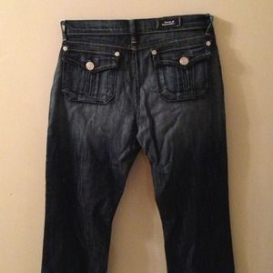 Rock and Republic dark jeans