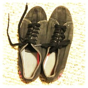 Shoes - Super worn in but perfect black shoe