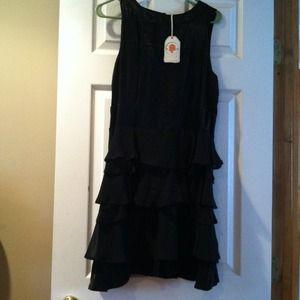 *REDUCED*Stunning Tulle black dress