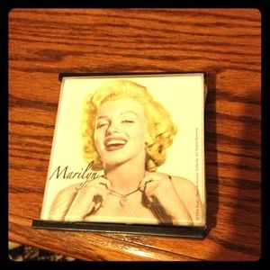 Accessories - Marilyn glass coaster set