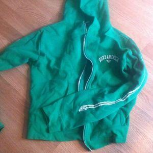 ROXYJacket Green W/Hoodie