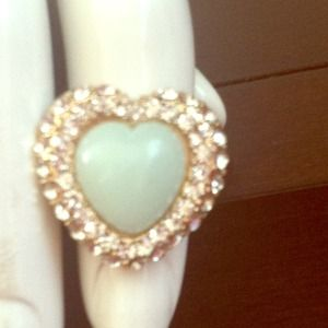 Jewelry - Sold!!!Heart ring!