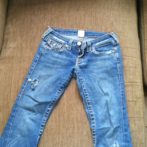 True Religion ripped style